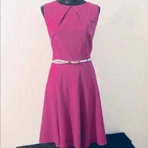 Mauve A-line Dress • Womens Size 16 • Sleeveless
